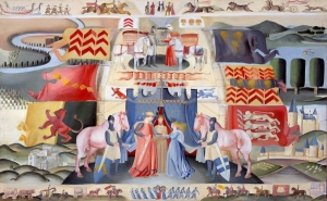 marriage of isabel de clare and william marshal ross tapestry