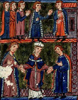 Marriage of Sybilla and Guy de Lusignan